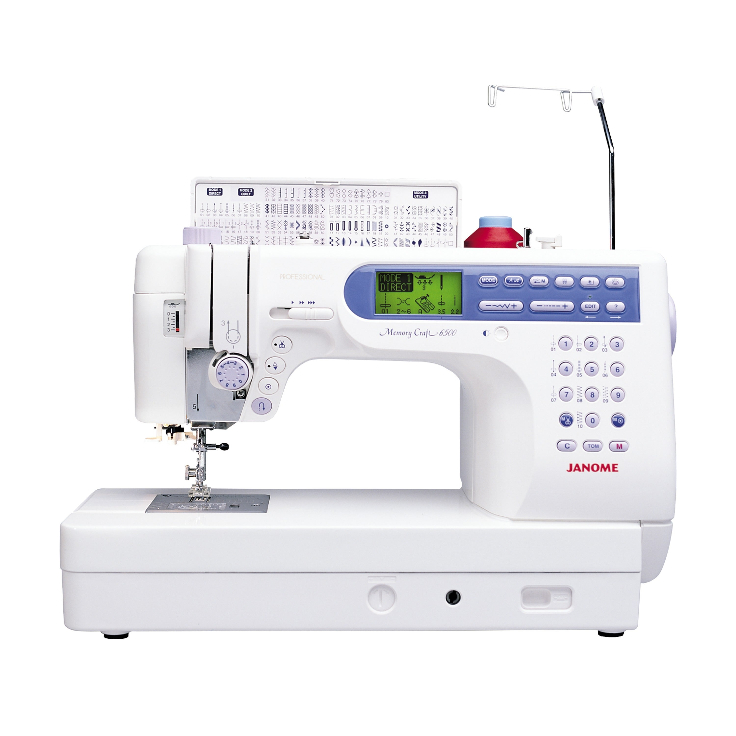 Janome Memory Craft 6500P Sewing and Quilting Machine (Me...