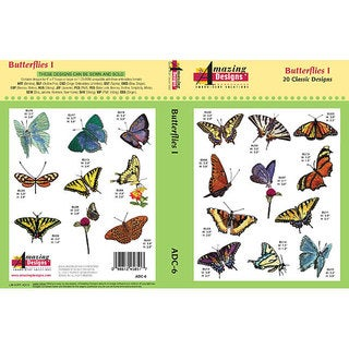Amazing Designs 'Butterflies I' Multi-format CD-Rom Software