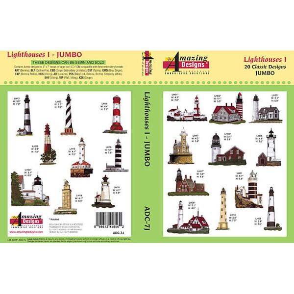 Amazing Designs 'Lighthouses I Jumbo' Multi-format CD-Rom Software