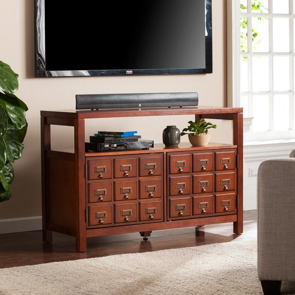 Harper Blvd Apothecary-style Double-door TV Stand