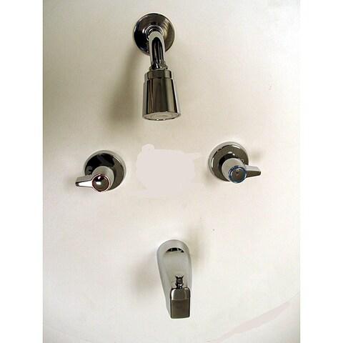 Moen 2-handle Chrome Tub/ Shower Faucet