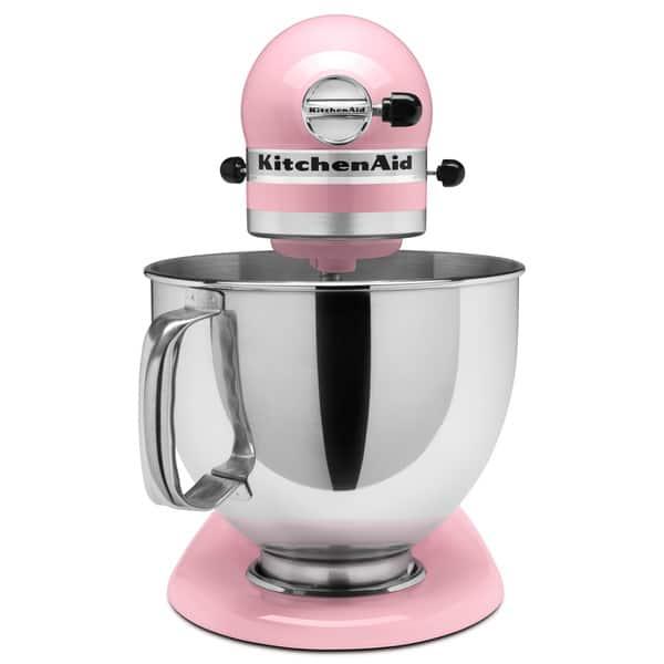 Shop KitchenAid KSM150PSPK Pink 5-quart Artisan Tilt-Head ...