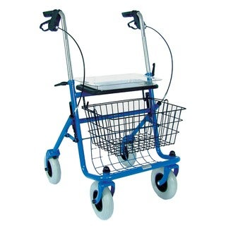 Mabis Traditional Blue Steel Rollator