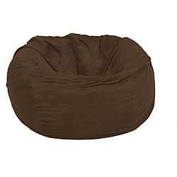 FufSack Large 5-foot Chocolate Lounge Chair