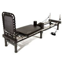 Stamina AeroPilates Premier Black Pilates Machine with Stand, Cardio Rebounder, Neck Pillow, and DVDs