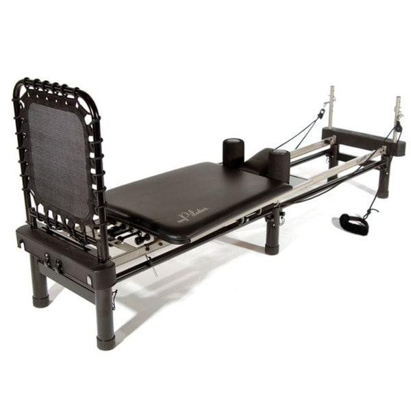 Delicieux Stamina AeroPilates Premier Black Pilates Machine With Stand, Cardio  Rebounder, Neck Pillow, And