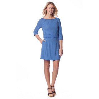 AtoZ Women's Pleat-front Mini Dress