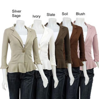AtoZ Women's Single-button Jacket
