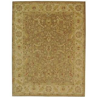 Safavieh Handmade Antiquities Treasure Brown/ Gold Wool Rug (12' x 15')