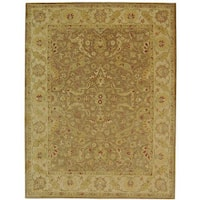Safavieh Handmade Antiquities Treasure Brown/ Gold Wool Rug - 12' x 15'
