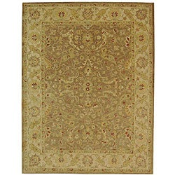 Safavieh Handmade Antiquities Treasure Brown/ Gold Wool Rug (12' x 18')