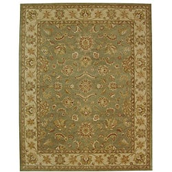 Safavieh Handmade Antiquities Gem Green Wool Rug (12' x 15')