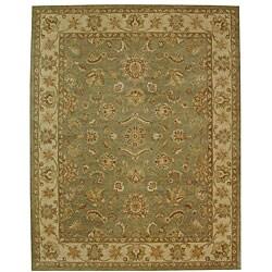 Safavieh Handmade Antiquities Gem Green Wool Rug - 12' x 18' - Thumbnail 0