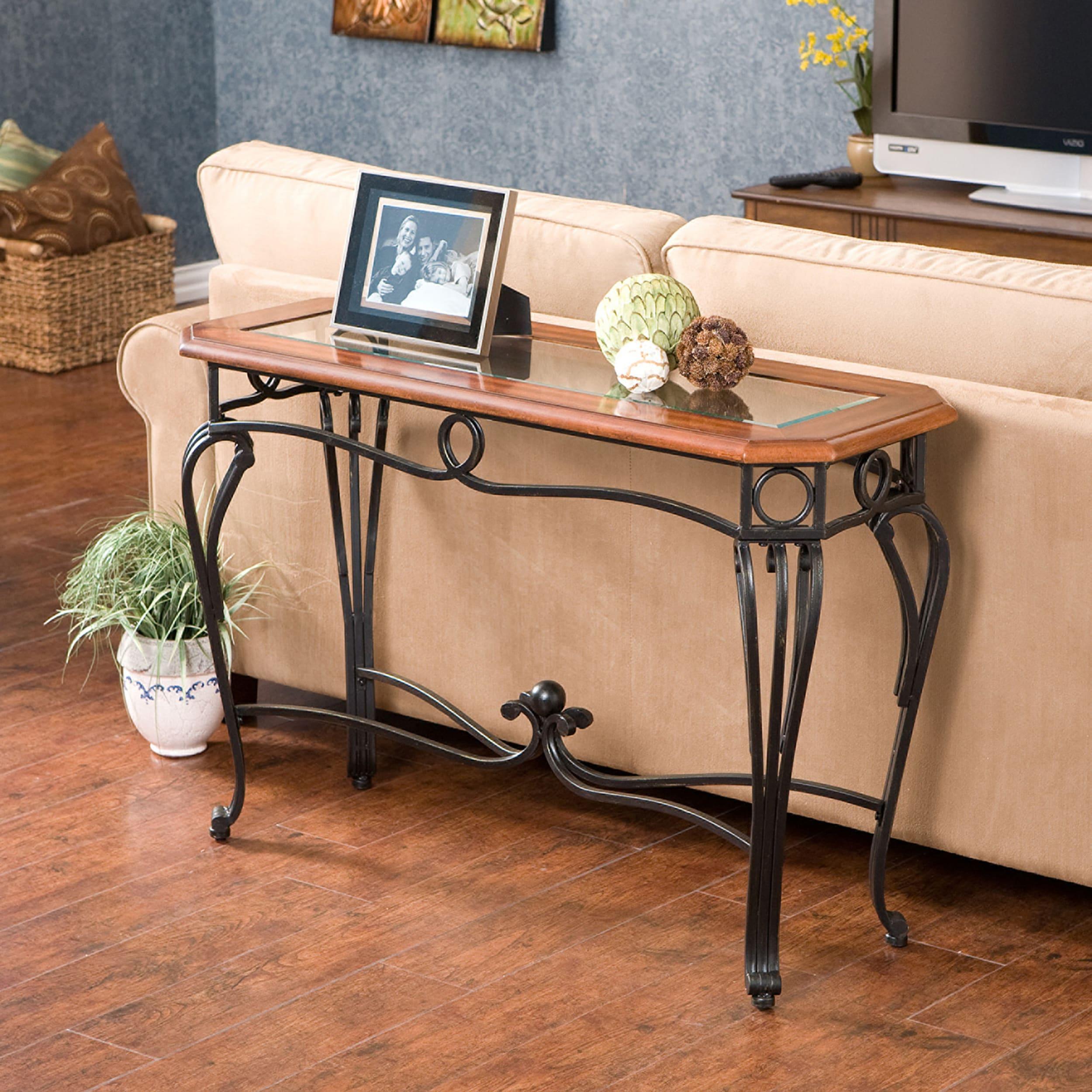 Copper Grove Swinley Sofa Table
