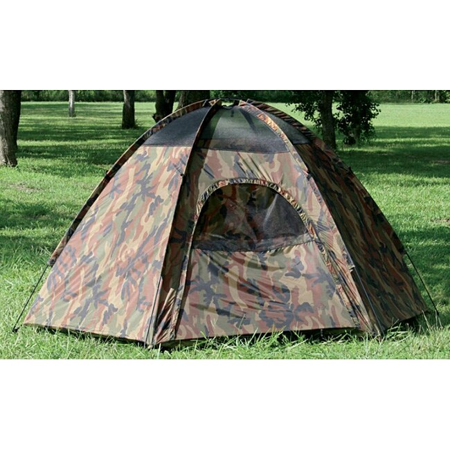 Texsport Hide-a-way Camouflauge Hexagon Dome Tent