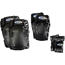 MBS Black Large Core Tri-pack Protective Pads - Thumbnail 0