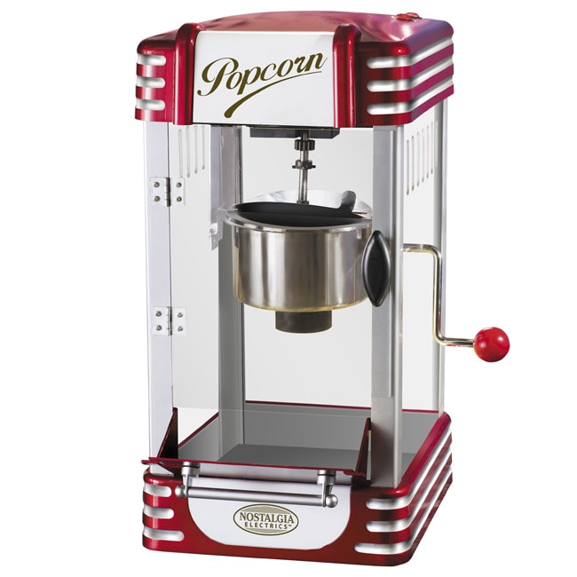 Nostalgia Electrics RKP-630 Retro Series Kettle Popcorn Maker - Thumbnail 0