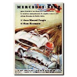 'Mercedes Benz' Canvas Art