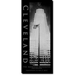 Preston 'Cleveland' Contemporary Canvas Art - Thumbnail 0