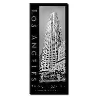Preston 'Los Angeles' Canvas Art