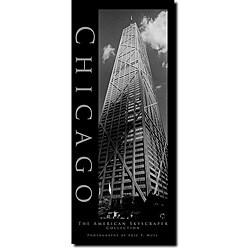 Preston 'Chicago' Vertical Canvas Art