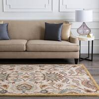Hand-tufted Wool Coliseum Area Rug (8' Round)