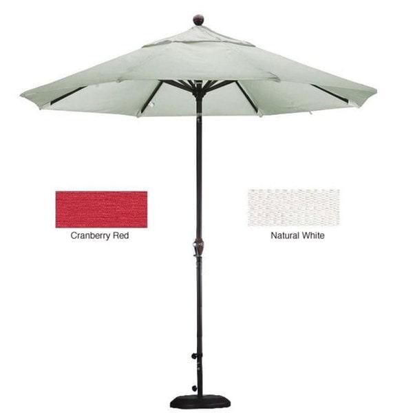 Patio Umbrella Bracket: Lauren & Company Premium Woven Olefin 9-foot Patio