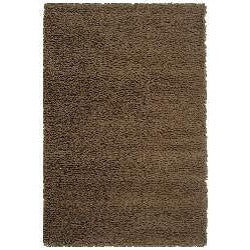 Safavieh Classic Plush Handmade Super Dense Chocolate Brown Shag Rug (5' x 8')