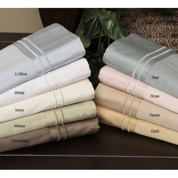 Resorts Collection 420 Thread Count Cotton Sheet Set