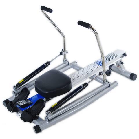 Stamina 1215 Free Motion Arm Orbital Rower - Silver