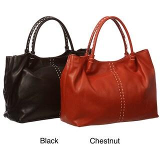 Presa 'Addison' Large Leather Tote Bag