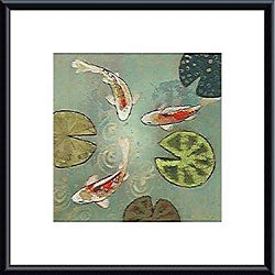 Aleah Koury 'Floating Motion II' Metal Framed Art Print
