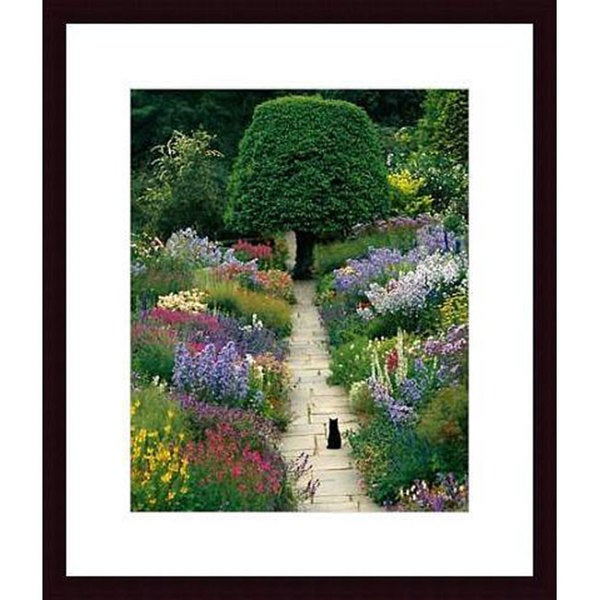 Greg Gawlowski 'The Garden Cat' Wood Framed Art Print