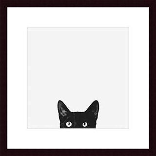 Jon Bertelli 'Curiosity' Wood Framed Art Print