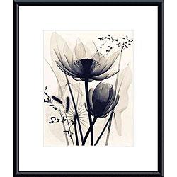 Judith McMillan 'Lotus and Grasses' Metal Framed Art Print