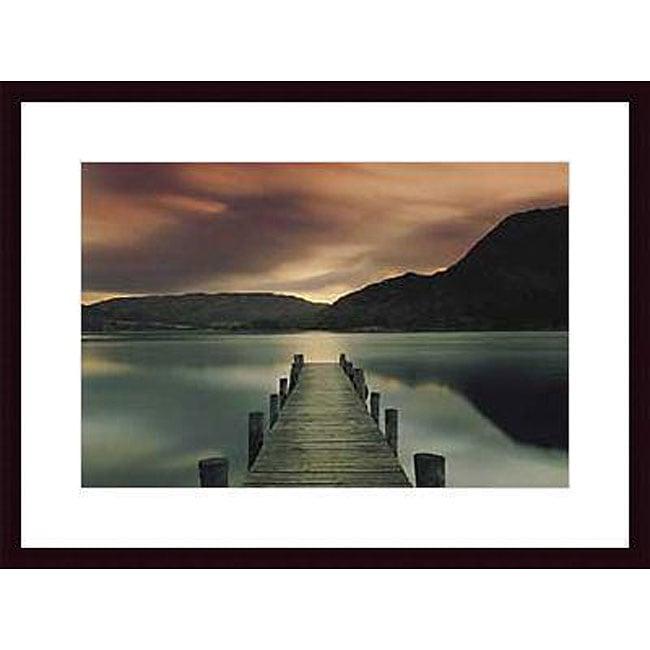 Mel Allen 'Ullswater' Wood Framed Art Print