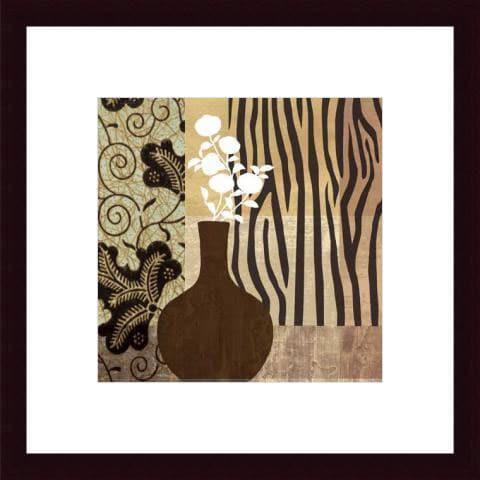 Paula Scaletta 'Kalahari II' Wood Framed Art Print