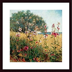 Phyllis Horne 'Favorite Places' Wood Framed Art Print
