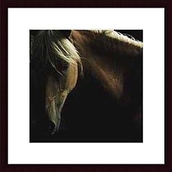 Tony Stromberg 'Spirit Horse' Wood Framed Art Print