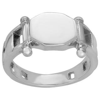 Sterling Essentials Sterling Silver Signet Ring