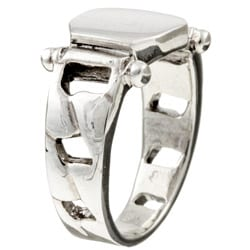 Sterling Essentials Sterling Silver Signet Ring