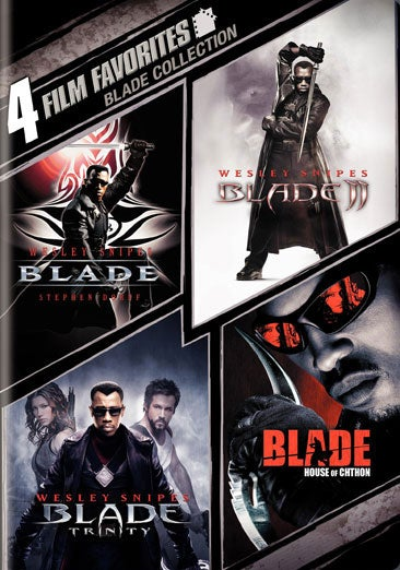 4 Film Favorites: Blade Collection (DVD)