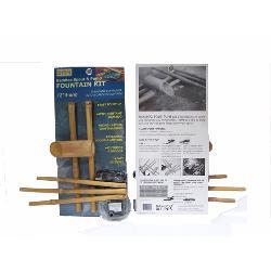 Five-arm 12-inch Bamboo Water Spout and Pump Kit , Handmade in Vietnam