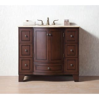 vintage bathroom vanity sink cabinets. Stufurhome 40 inch Grand Cheswick Single Sink Bathroom Vanity Vintage Vanities  Cabinets Shop The Best Deals