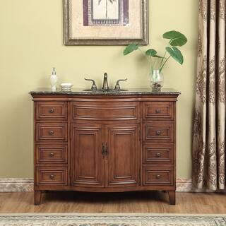 Stufurhome Yorktown 48 Inch Single Sink Vanity
