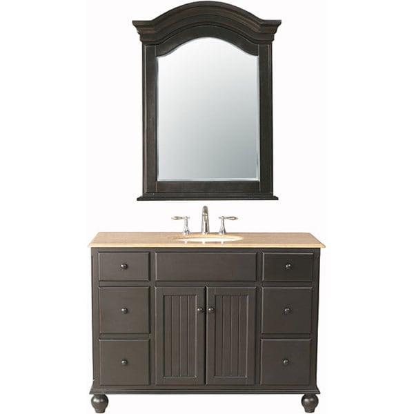 Stufurhome Alvina 48-inch Single Sink Vanity