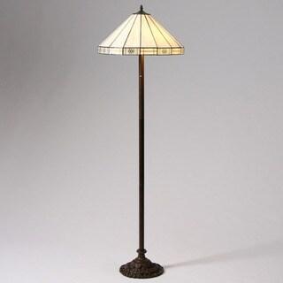 Tiffany-style Simple Floor Lamp