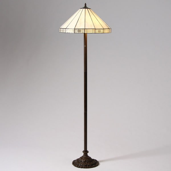 Shop Tiffany Style Simple Floor Lamp Free Shipping Today