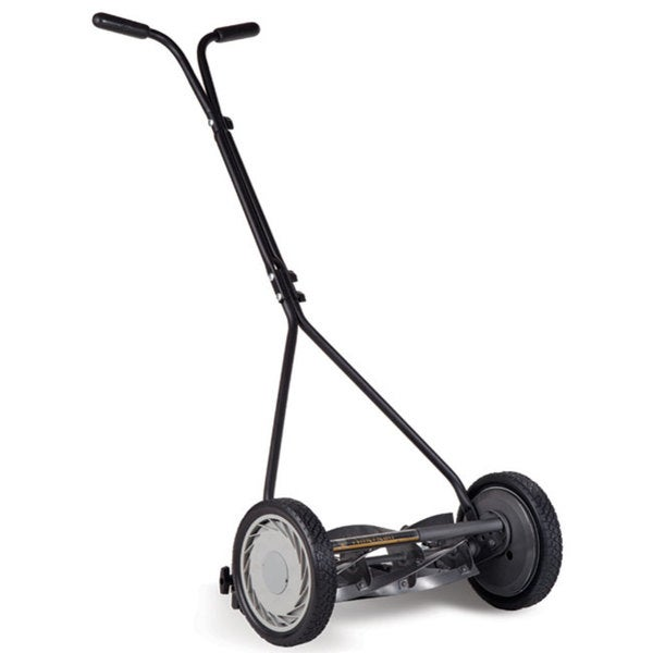 Deluxe Light Push Reel Lawn Mower American Lawn Mower 16