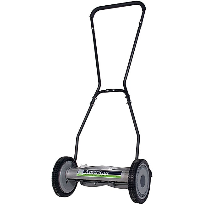 American Lawn Mower 18 Inch Deluxe Light Reel Mower Free